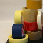 Gumičky, lepiace pásky